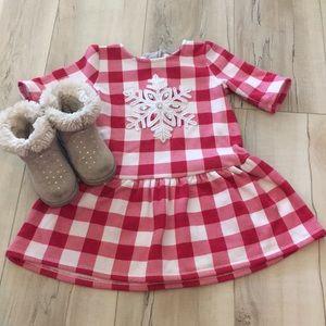 Gymboree Snowflake Dress
